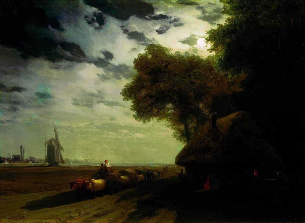 http://upload.wikimedia.org/wikipedia/commons/6/6f/Aivasovsky_Ivan_Constantinovich_-_Ukrainian_landscape_with_chumaks_in_the_moonlight.jpg