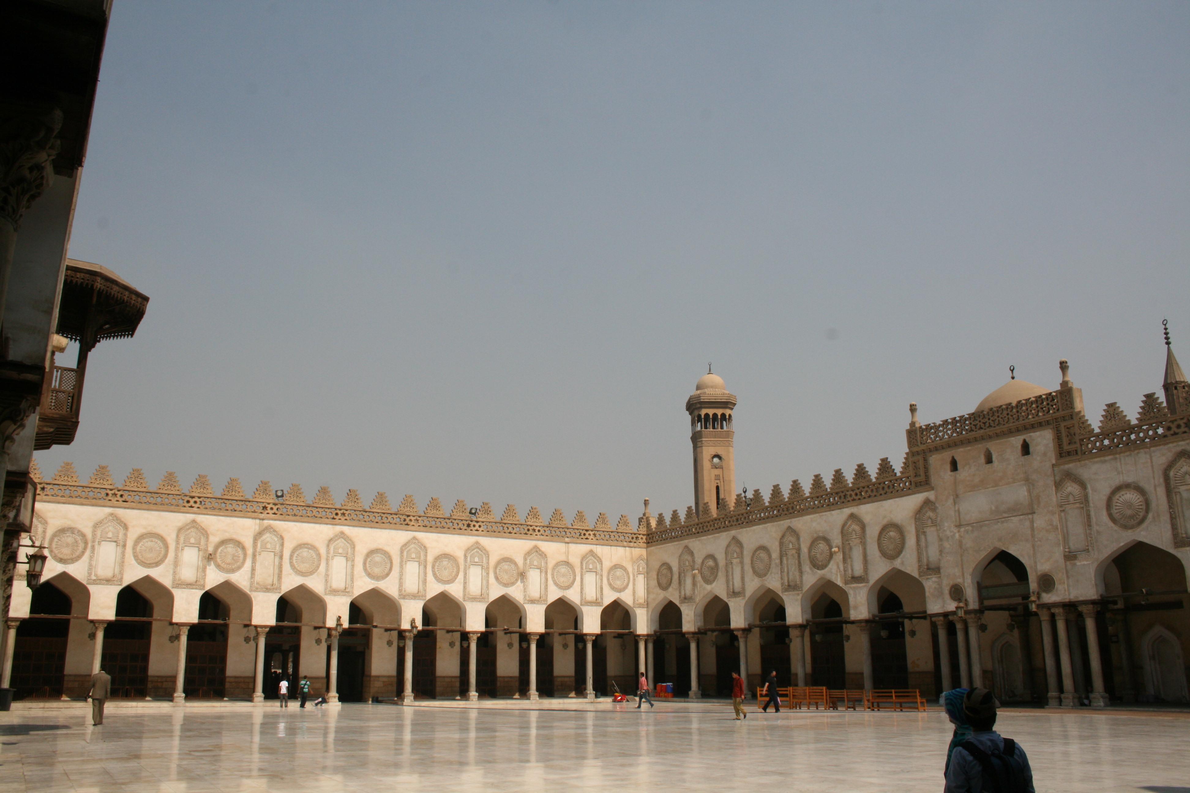 File Al Azhar Mosque Cairo Egypt3 Jpg Wikimedia Commons