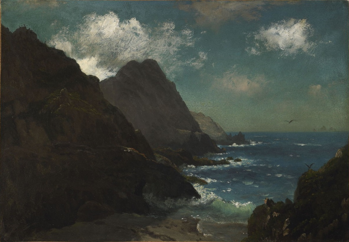 File:Albert Bierstadt - Farallon Islands, California (c ...