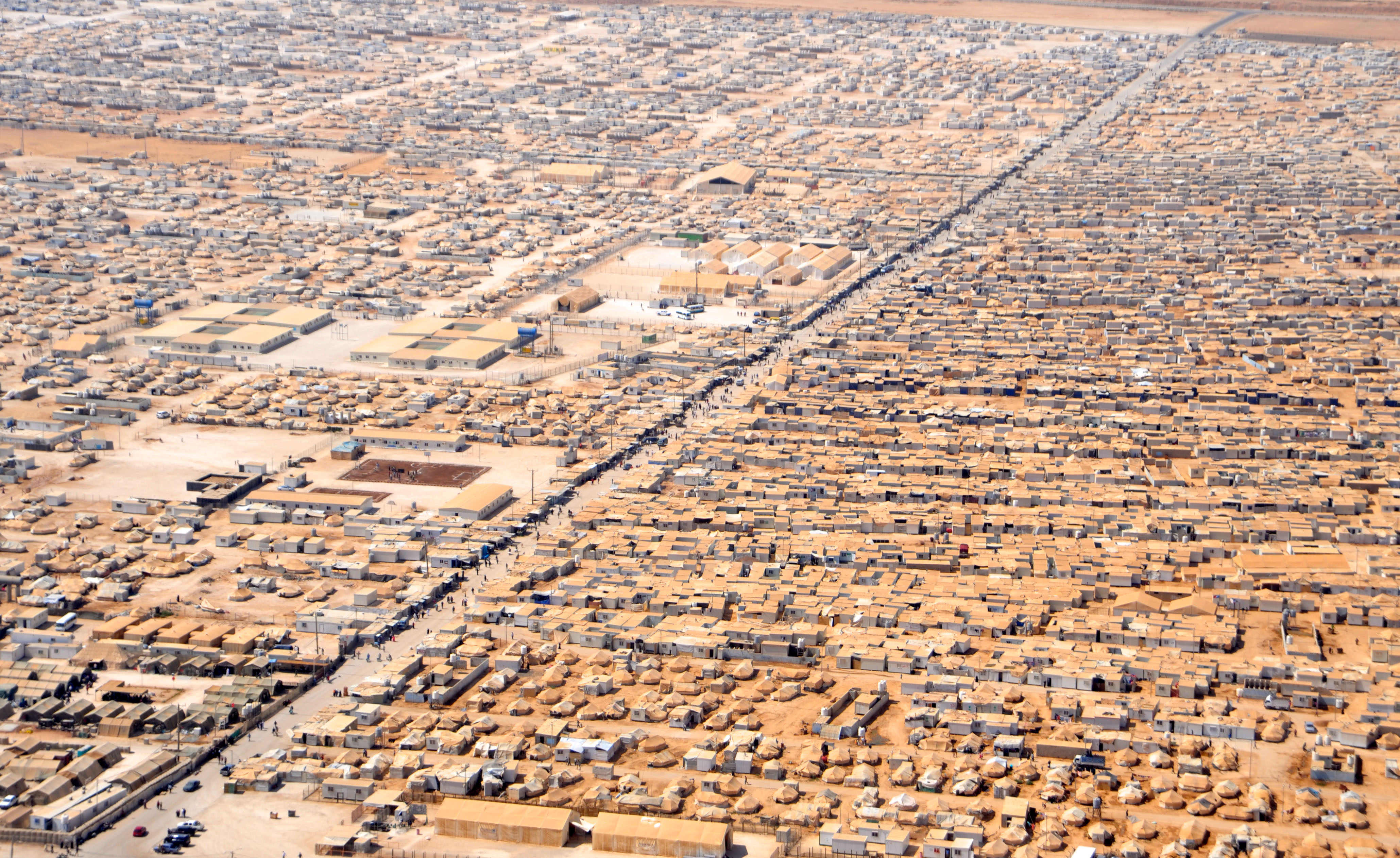 Syrian refugee camps - Wikipedia
