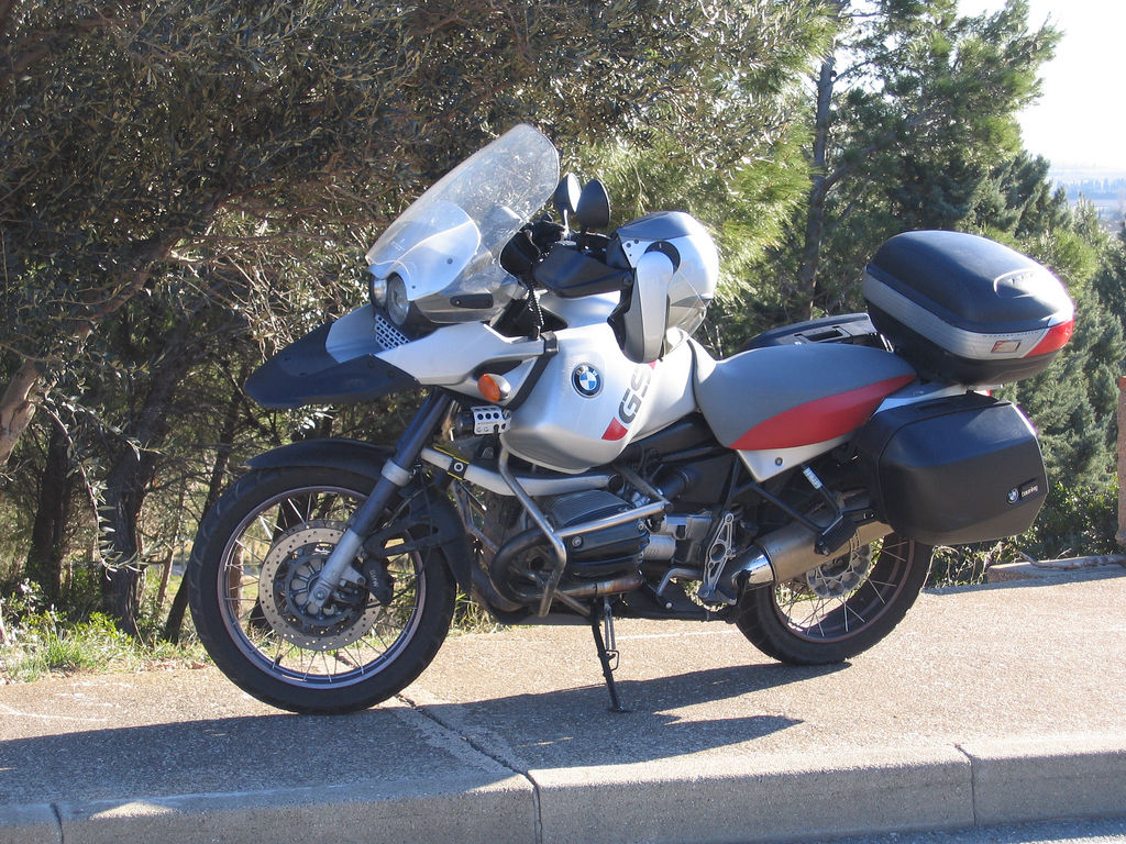 File Bmw R1150gs Adventure With System Panniers Jpg