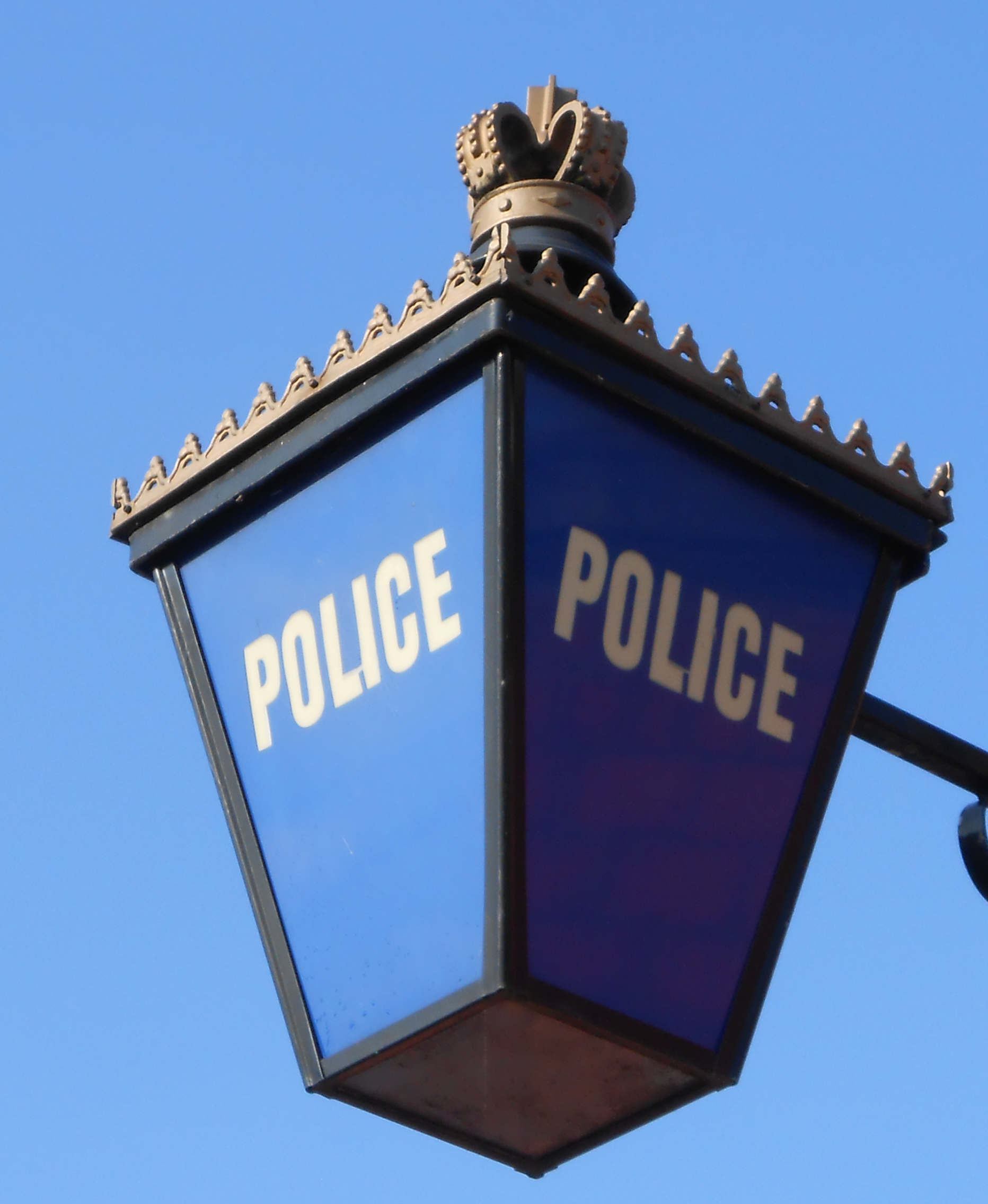 FileBlue Lamp At Well Lane Police Station Birkenhead
