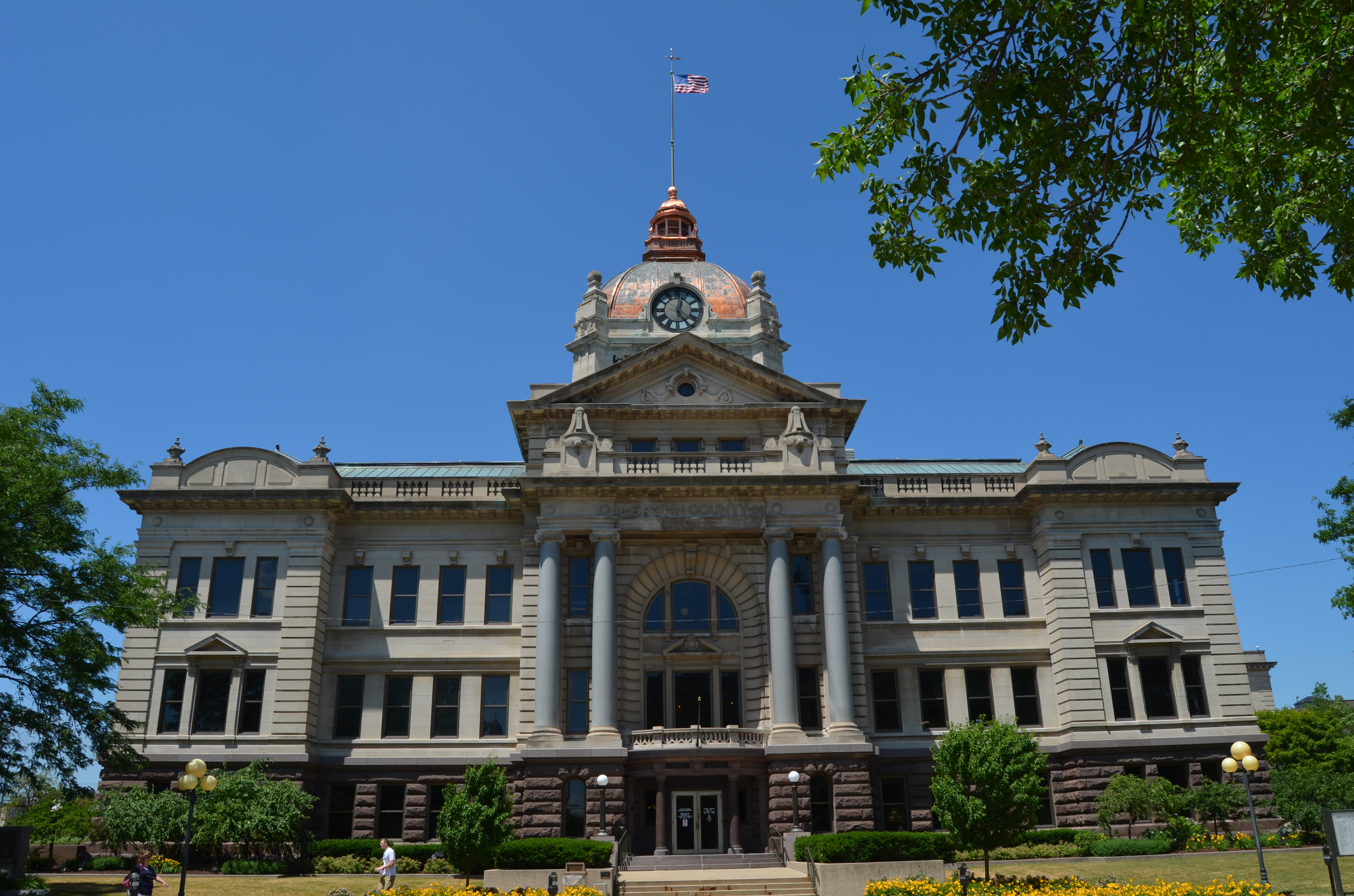 File:Brown County Court House, Green Bay, Wisconsin