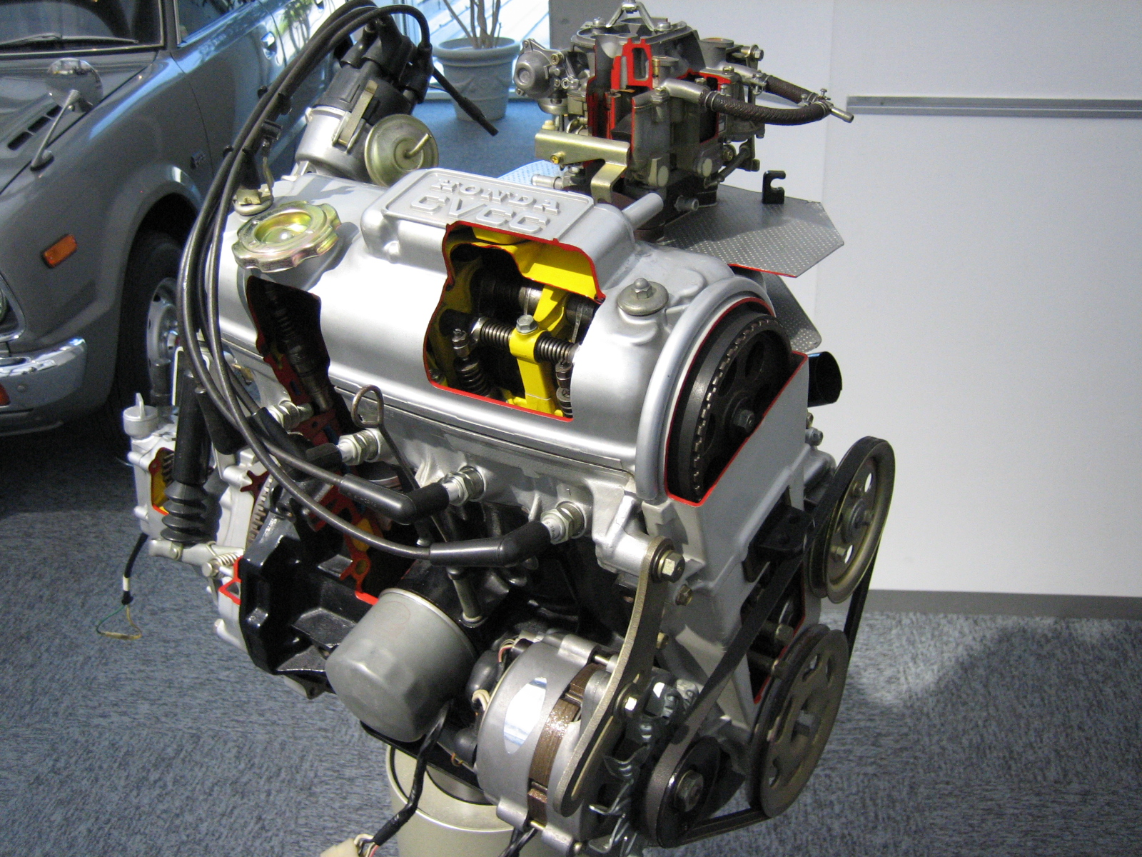 Honda E engine
