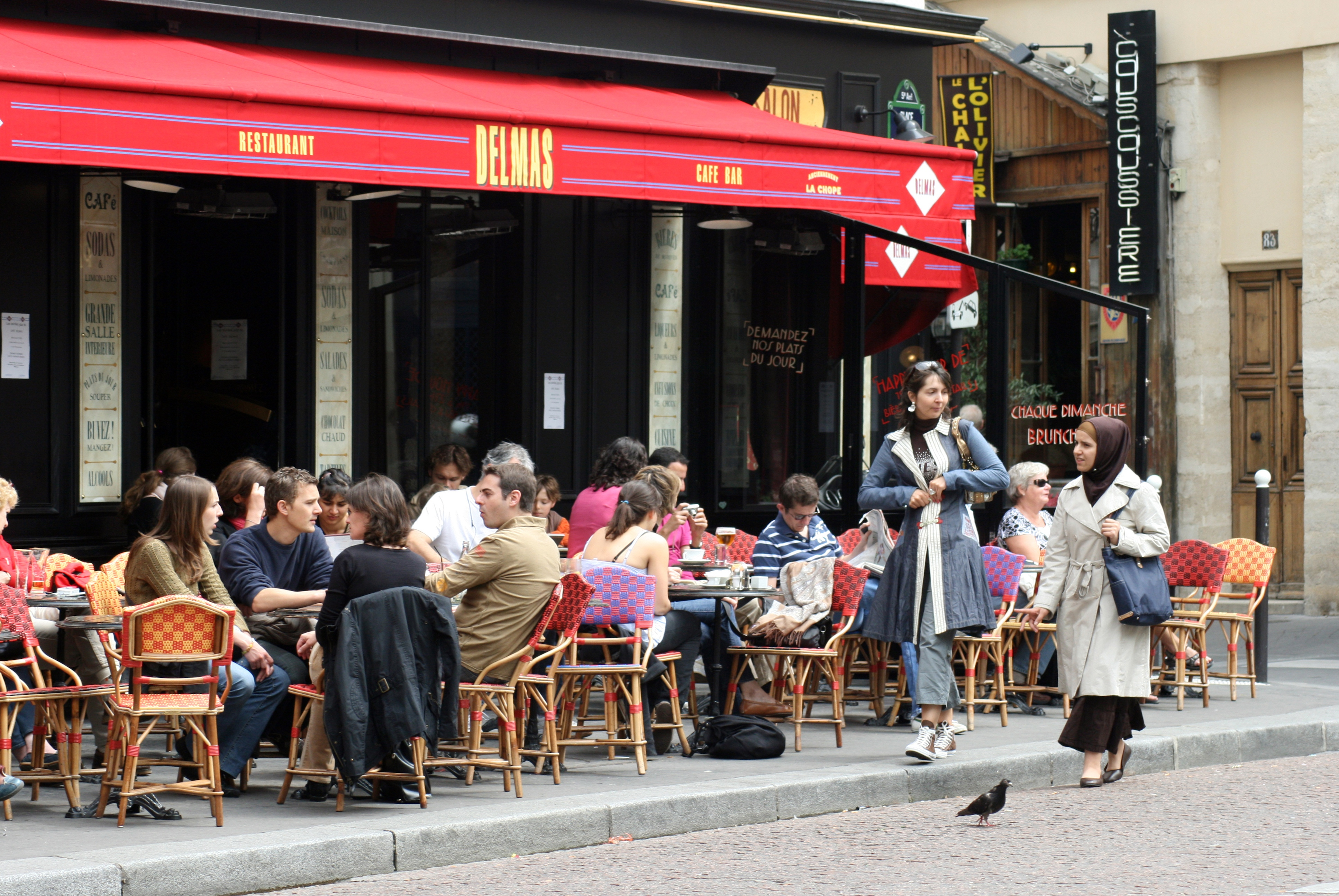 Restaurants And Cafes In Paris