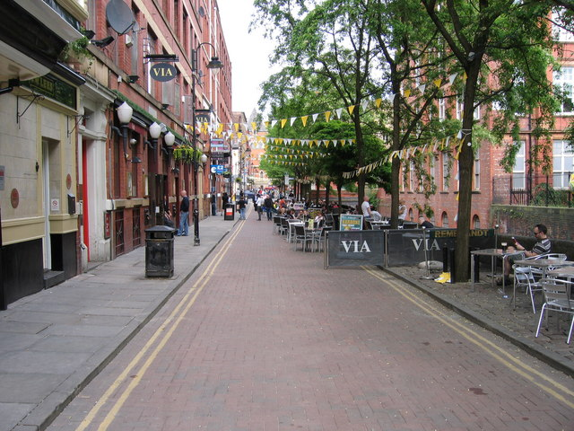 List Of Streets And Roads In Manchester Wikipedia
