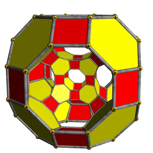 Cantitruncated tesseract stella4d