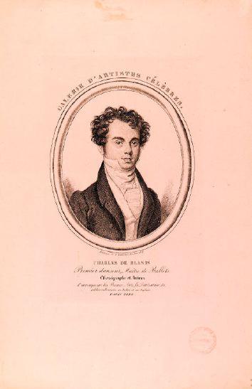 Depiction of Carlo Blasis