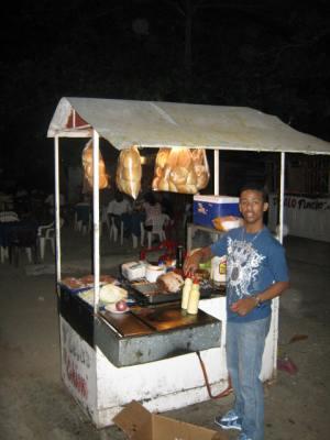 Chimmichurri vendor republica dominicana