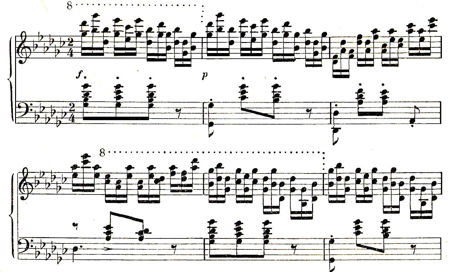 File:Chopin Op  10 No  5 Gaston arrangement jpg - Wikimedia