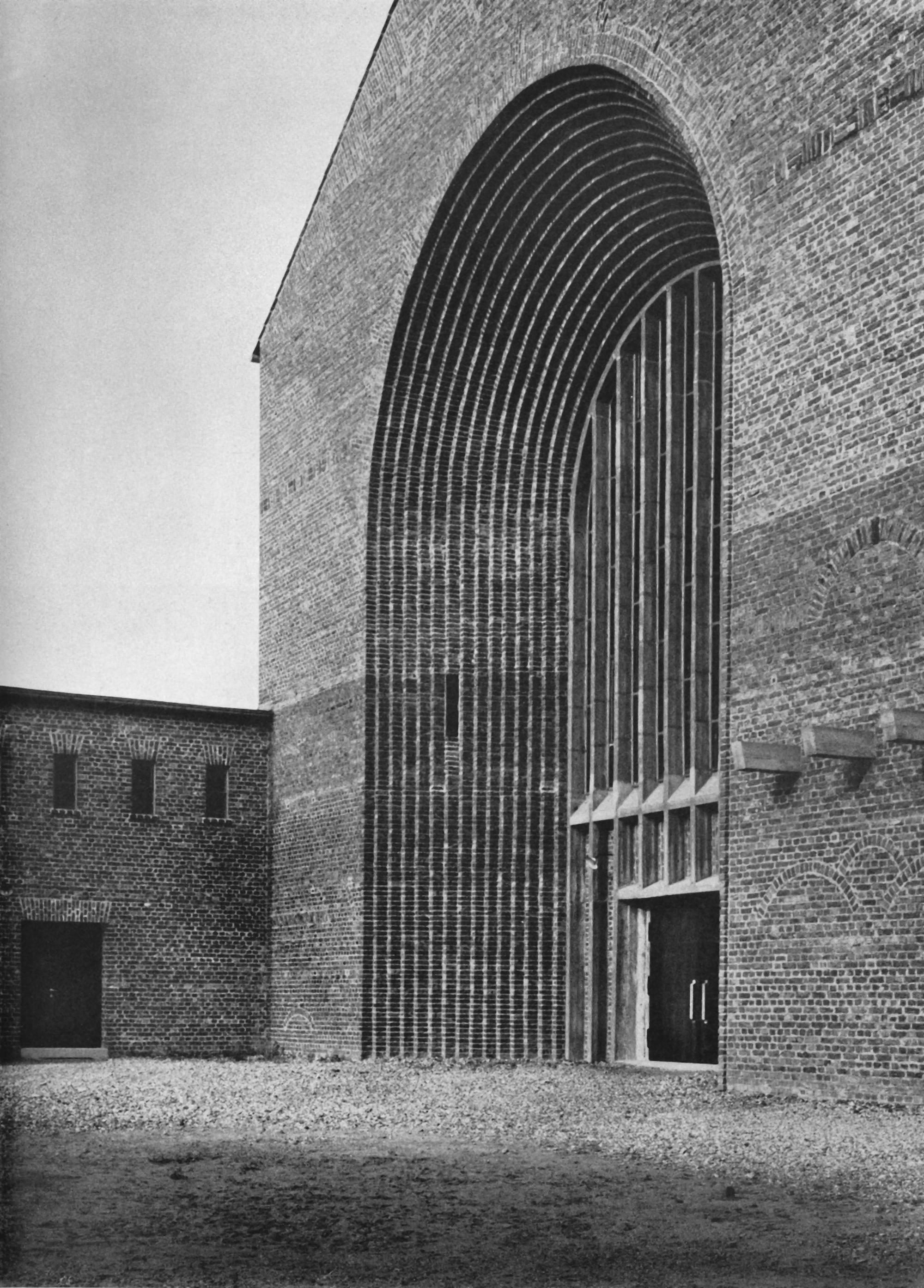Architekt Leverkusen file christkoenig leverkusen by hugo schmoelz jpg wikimedia commons