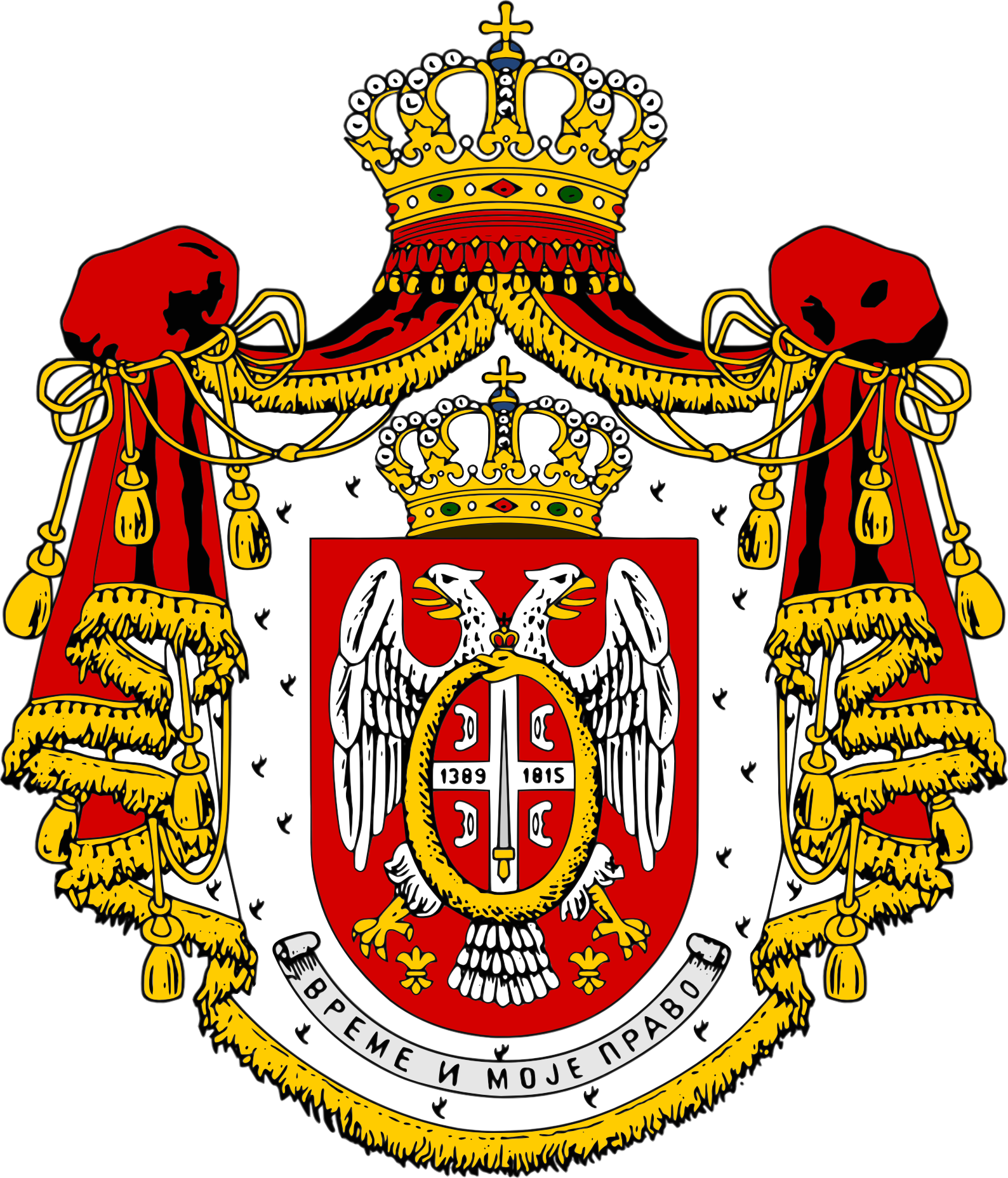 [Слика: Coat_of_Arms_of_the_Obrenovic_Royal_Family.png]