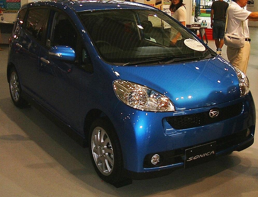 Daihatsu Sonica Interior
