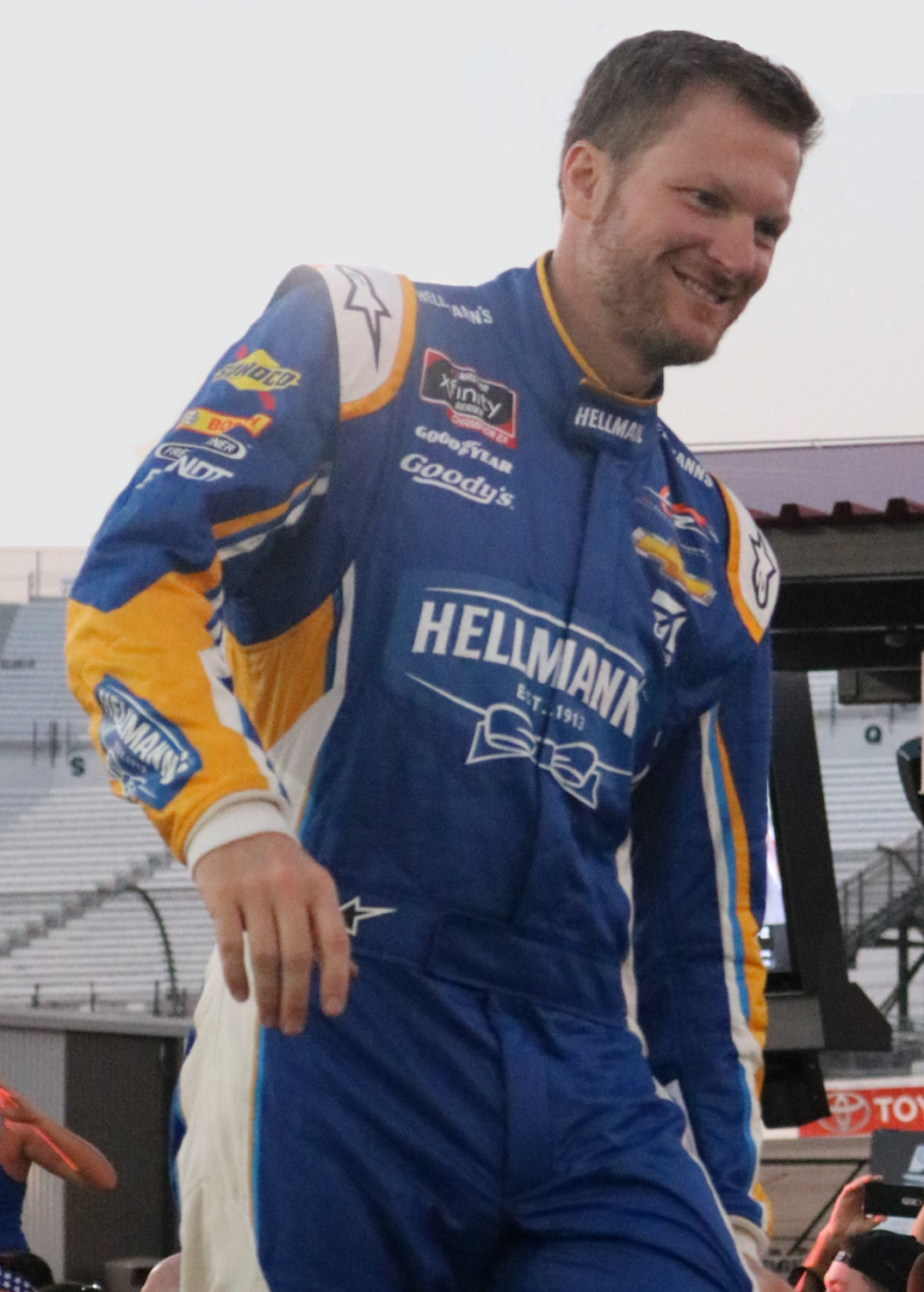 The 46-year old son of father Dale Earnhardt and mother Brenda Lorraine Gee Dale Earnhardt Jr. in 2021 photo. Dale Earnhardt Jr. earned a  million dollar salary - leaving the net worth at 300 million in 2021