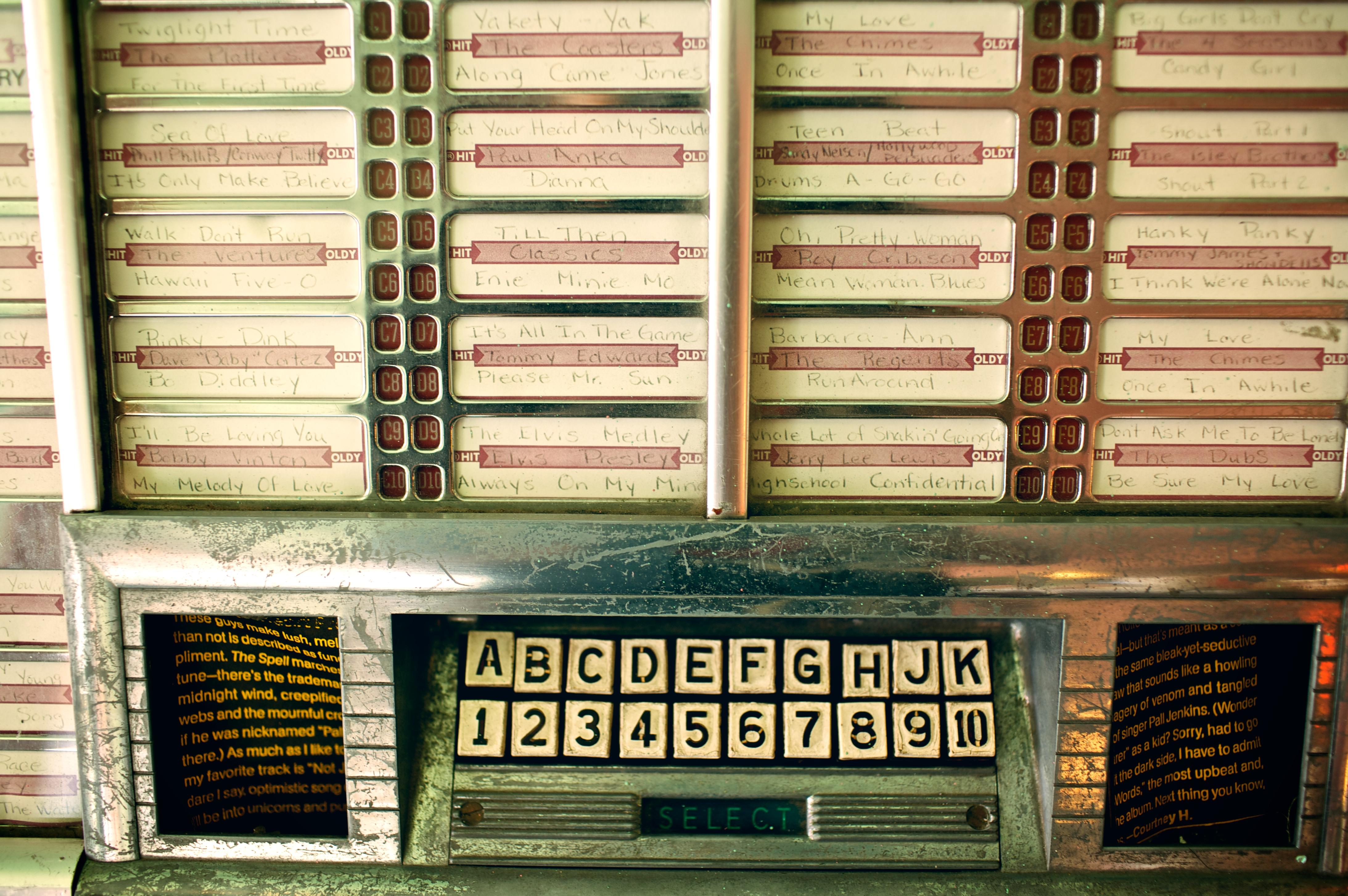 Old Fashioned Jukebox Hire Brisbane