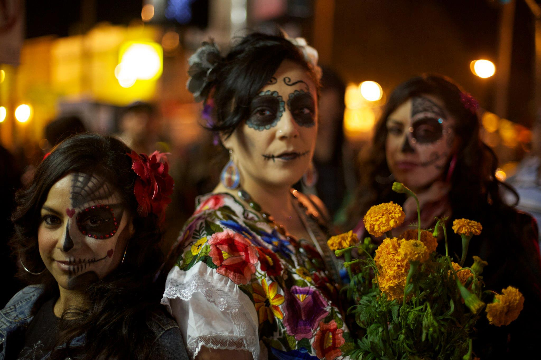 Day of the Dead, Mexico. world's largest festivals