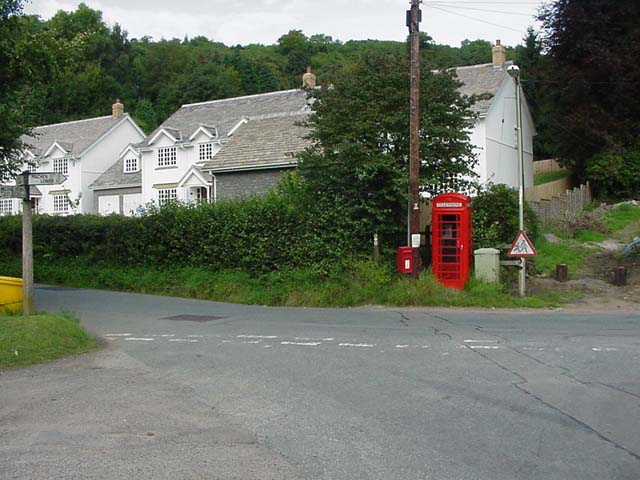 Draethen Village Crossroads - geograph.org.uk - 90813