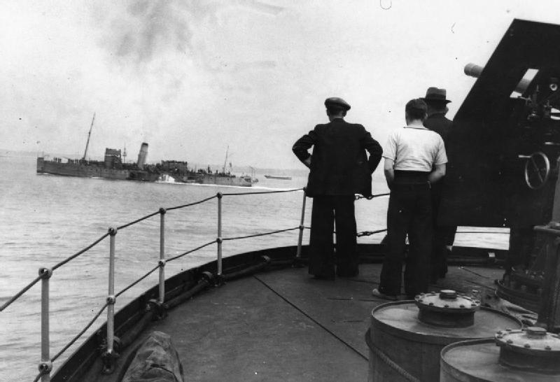 Dunkirk and the Retreat From France 1940 HU104604