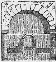 EB1911 Catacomb - Fig. 14.—Bishop's Chair. Catacomb of Sant' Agnese.jpg