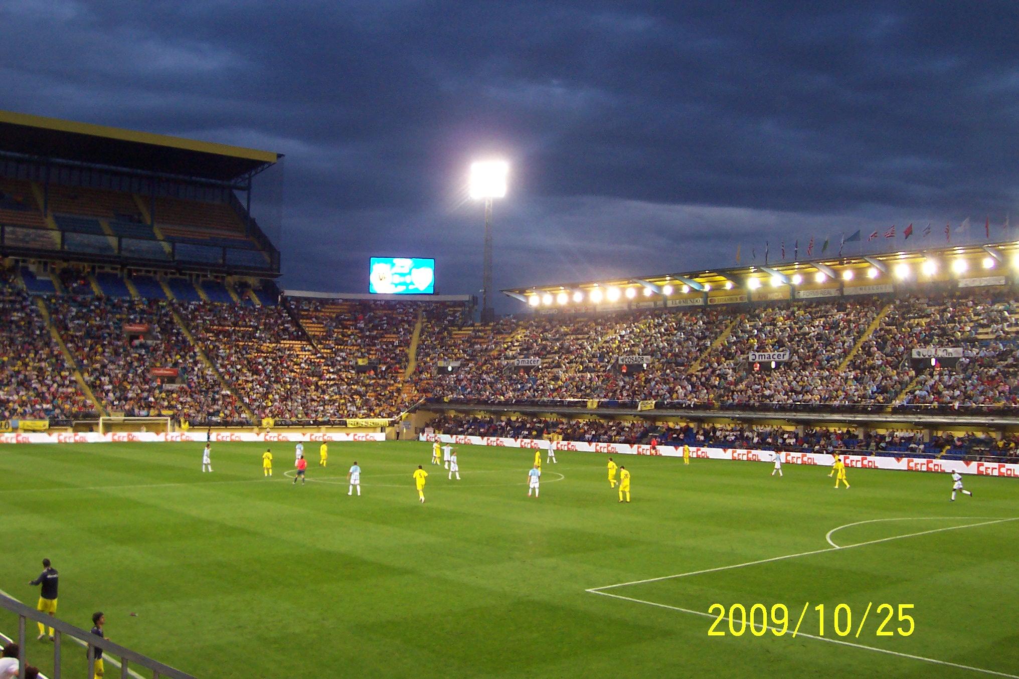 Cartina Spagna Villarreal.Stadio Della Ceramica Wikipedia