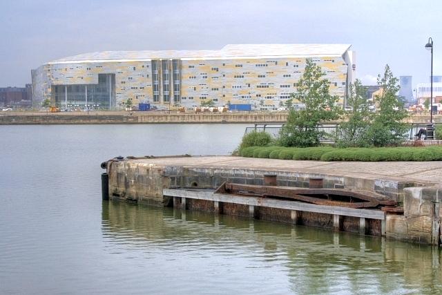Entrance to Middlesbrough Docks - geograph.org.uk - 893836