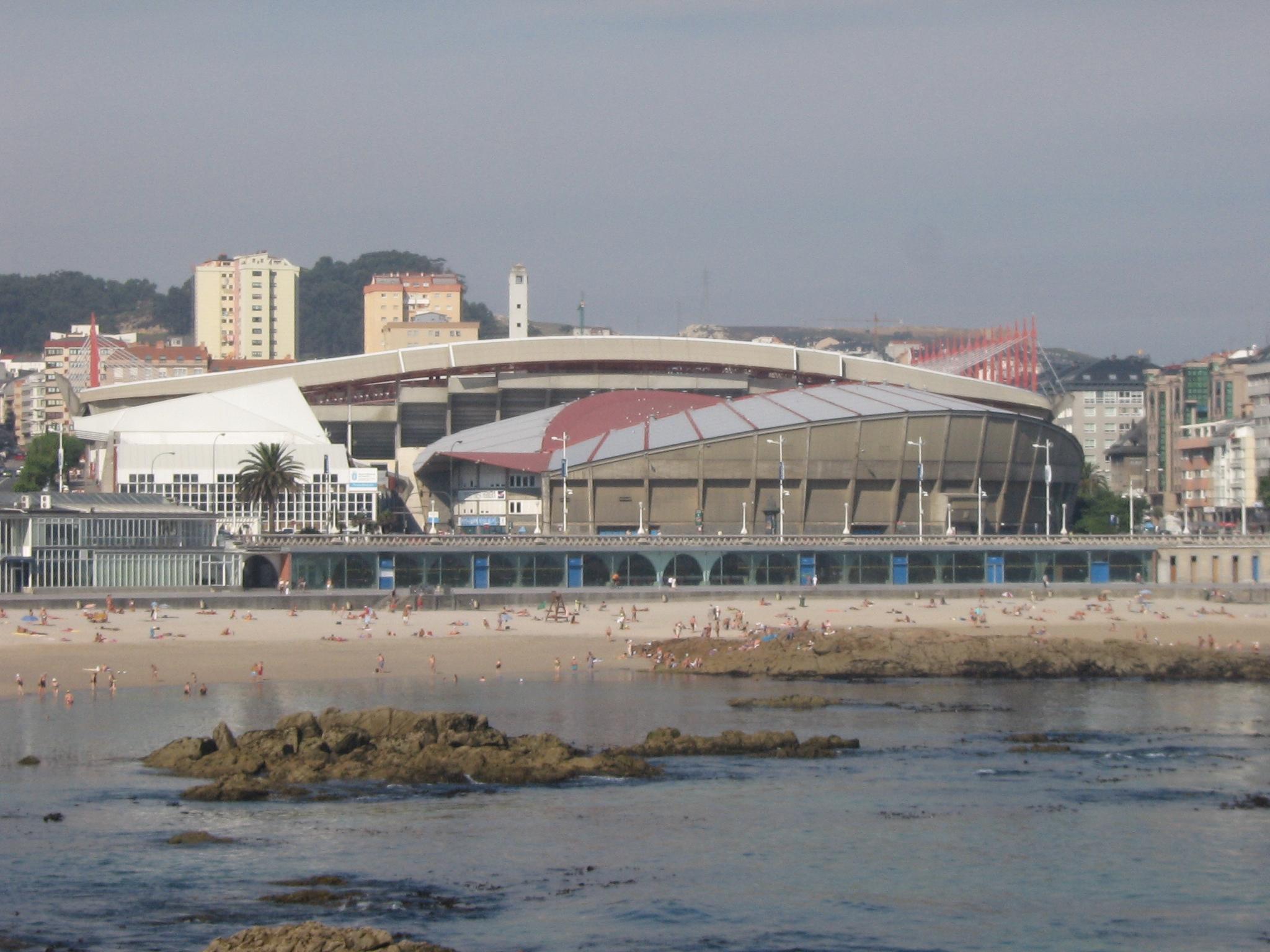 Palacio De Los Deportes De Riazor Wikipedia La Enciclopedia Libre