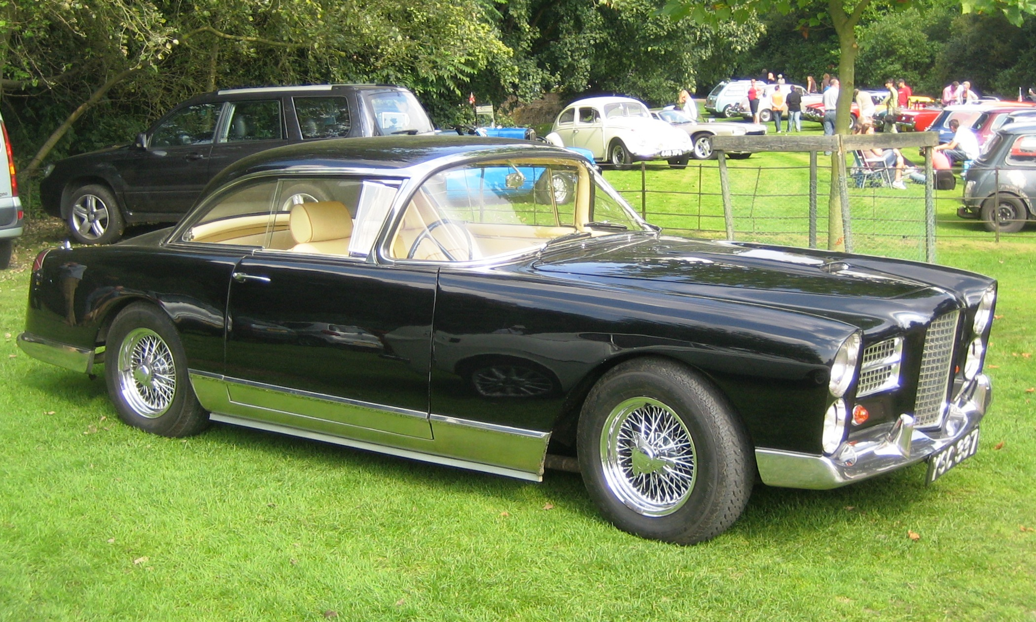 Racing Mower For Sale >> File:Facel Vega 1961 Castle Hedingham 2008.JPG - Wikipedia