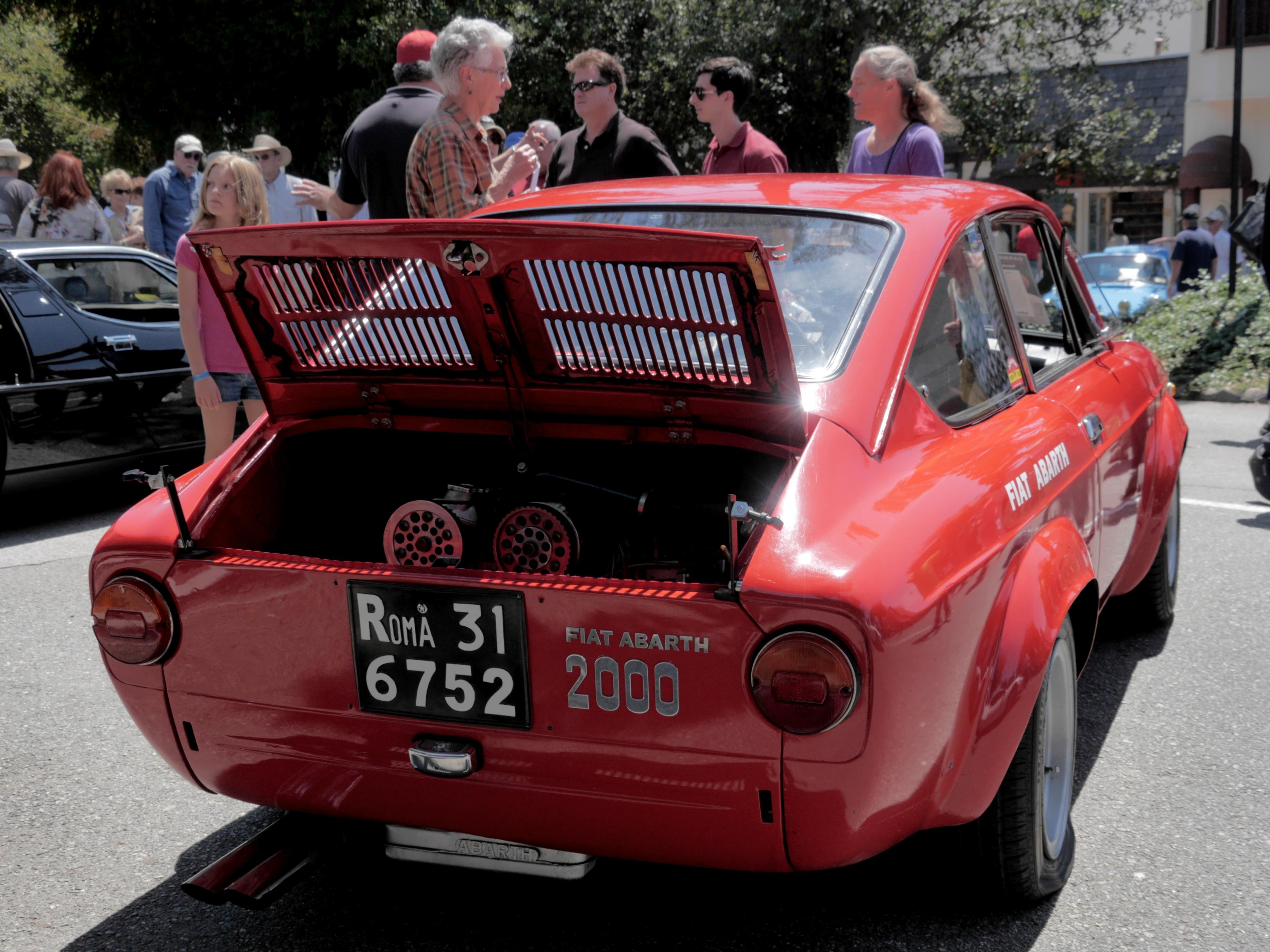 Fiat abarth ot 2000
