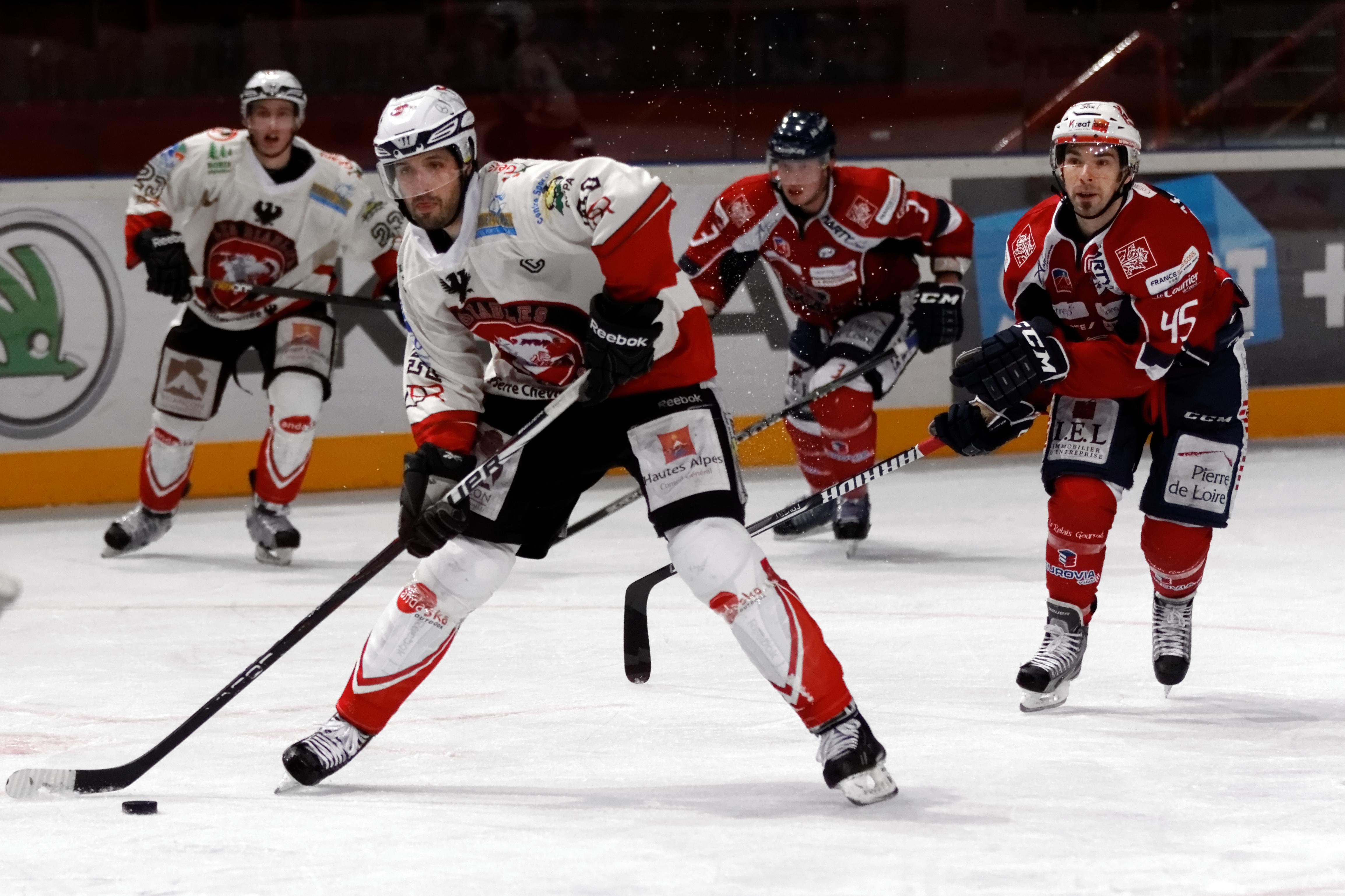 File:Finale de la coupe de France de Hockey sur glace 2013 ... Hockey