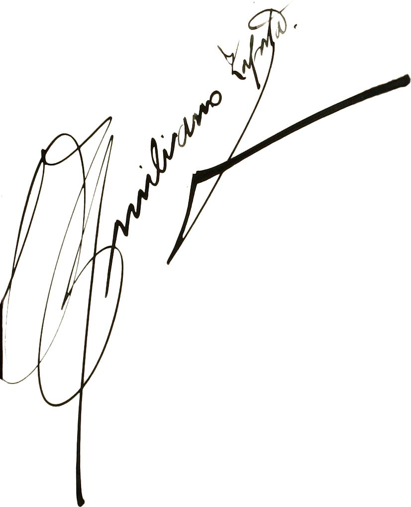 File Firma De Emiliano Zapata Con Fondo Blanco Png Wikimedia Commons