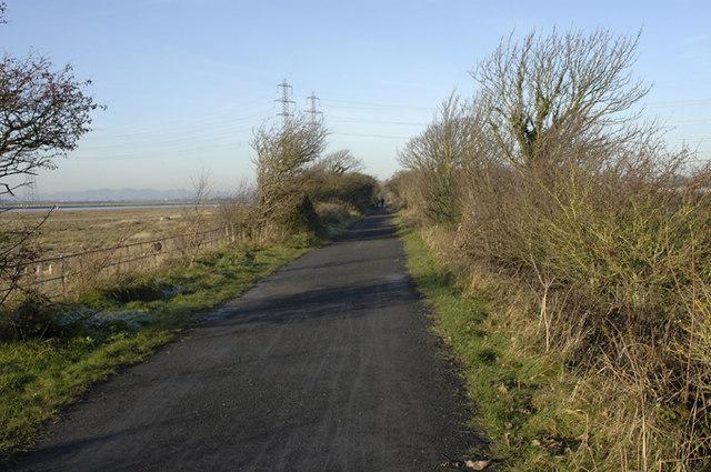 Footpath near Stodday - geograph.org.uk - 1070438