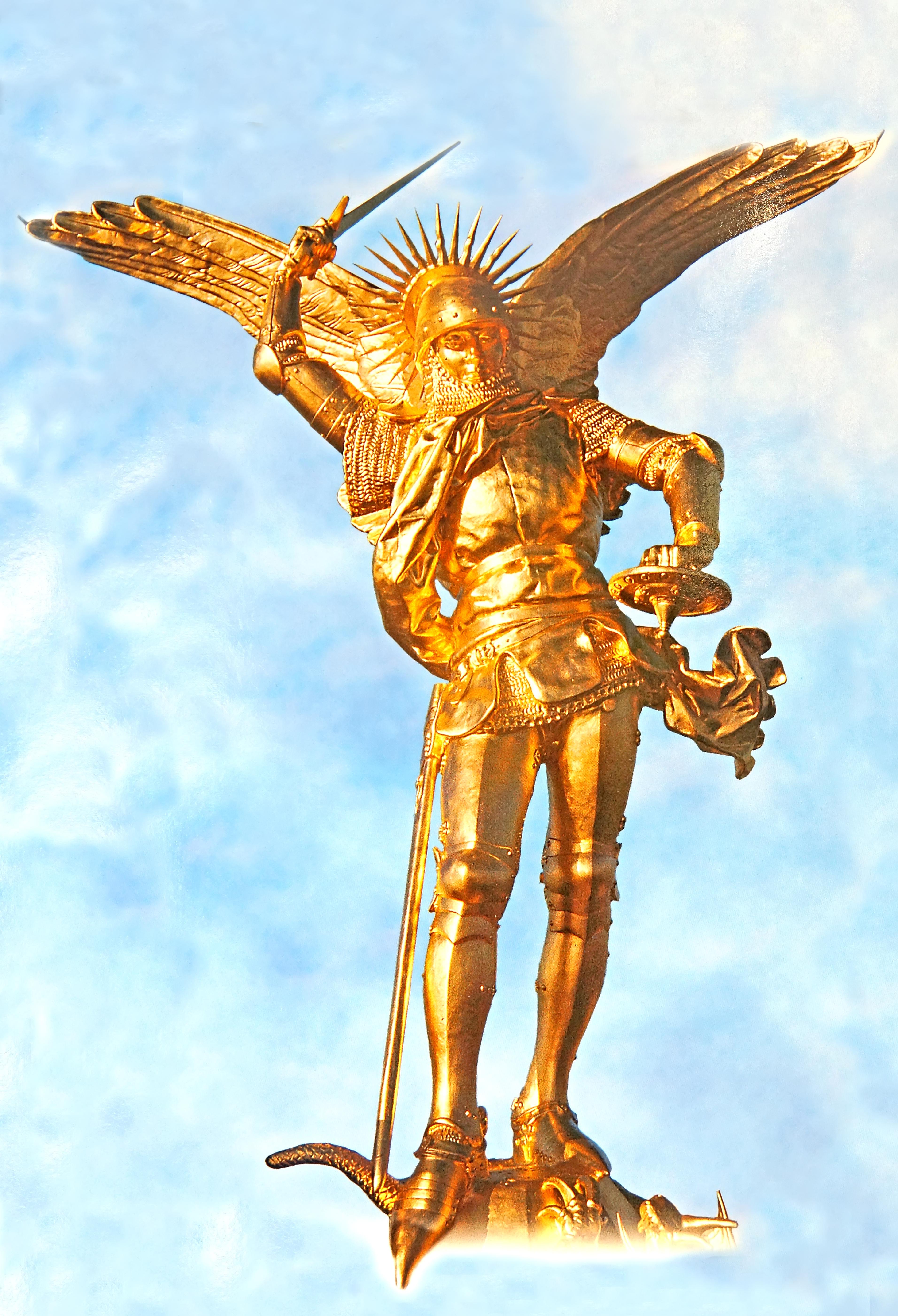 file france 001002 statue of archangel michael 15124149091 jpg