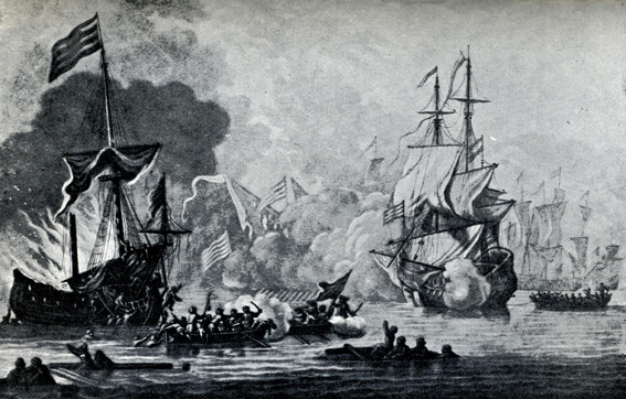 HMS Mary Rose and pirates