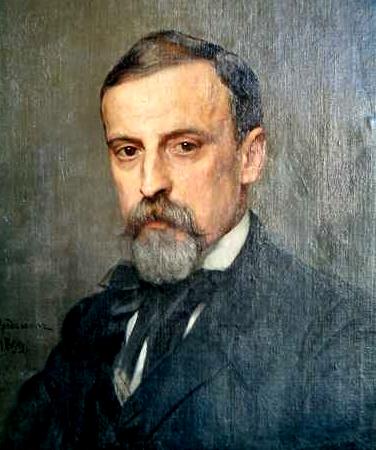 Kazimierz Mordasewicz, Portret Henryka Sienkiewicza, 1899
