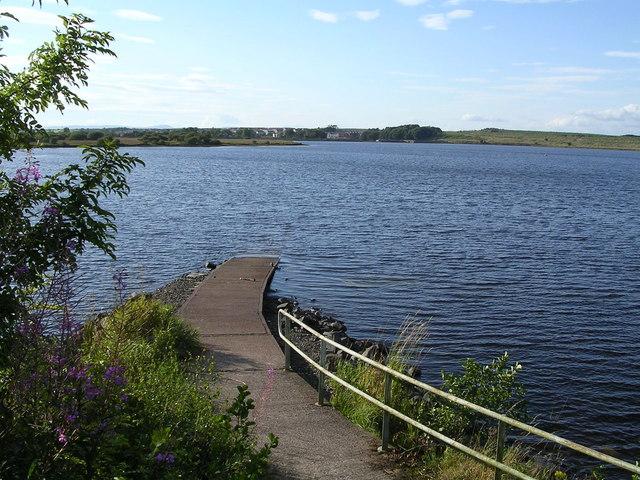 Hillend Reservoir - geograph.org.uk - 222536