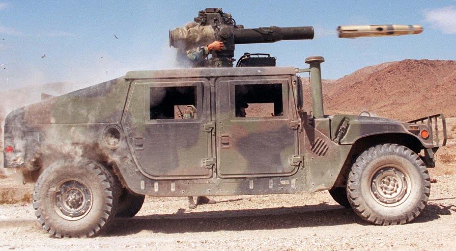 Humvee TOW Missle