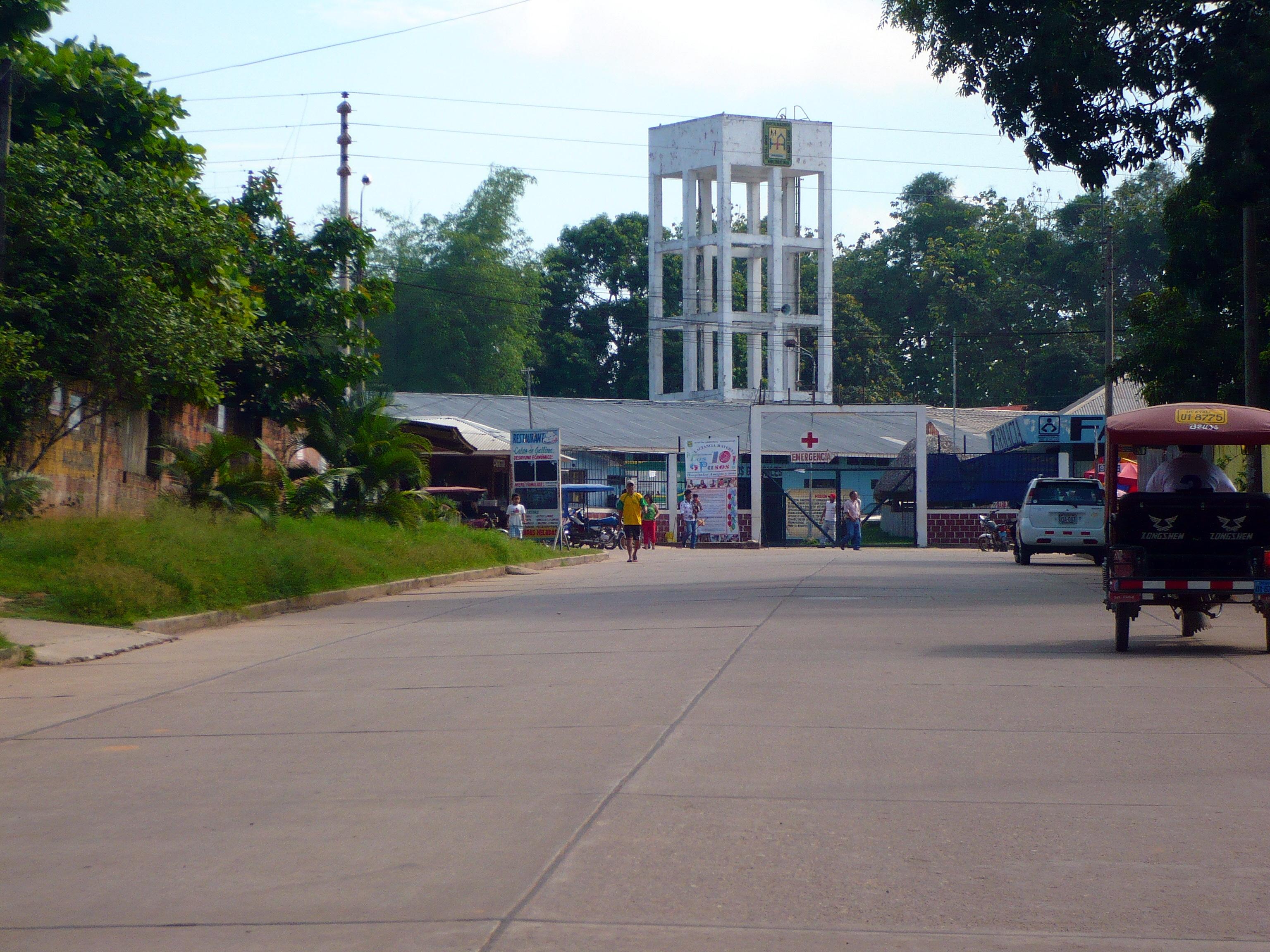 Hospital Amazónico de Yarinacocha - Wikipedia, la enciclopedia libre