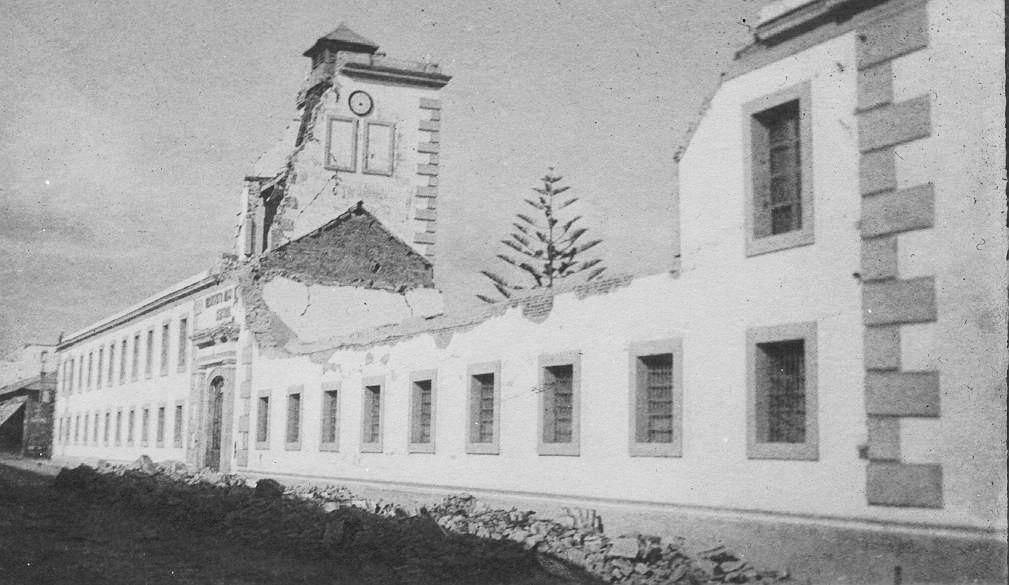 Instituto Nacional Central para Varones en 1918