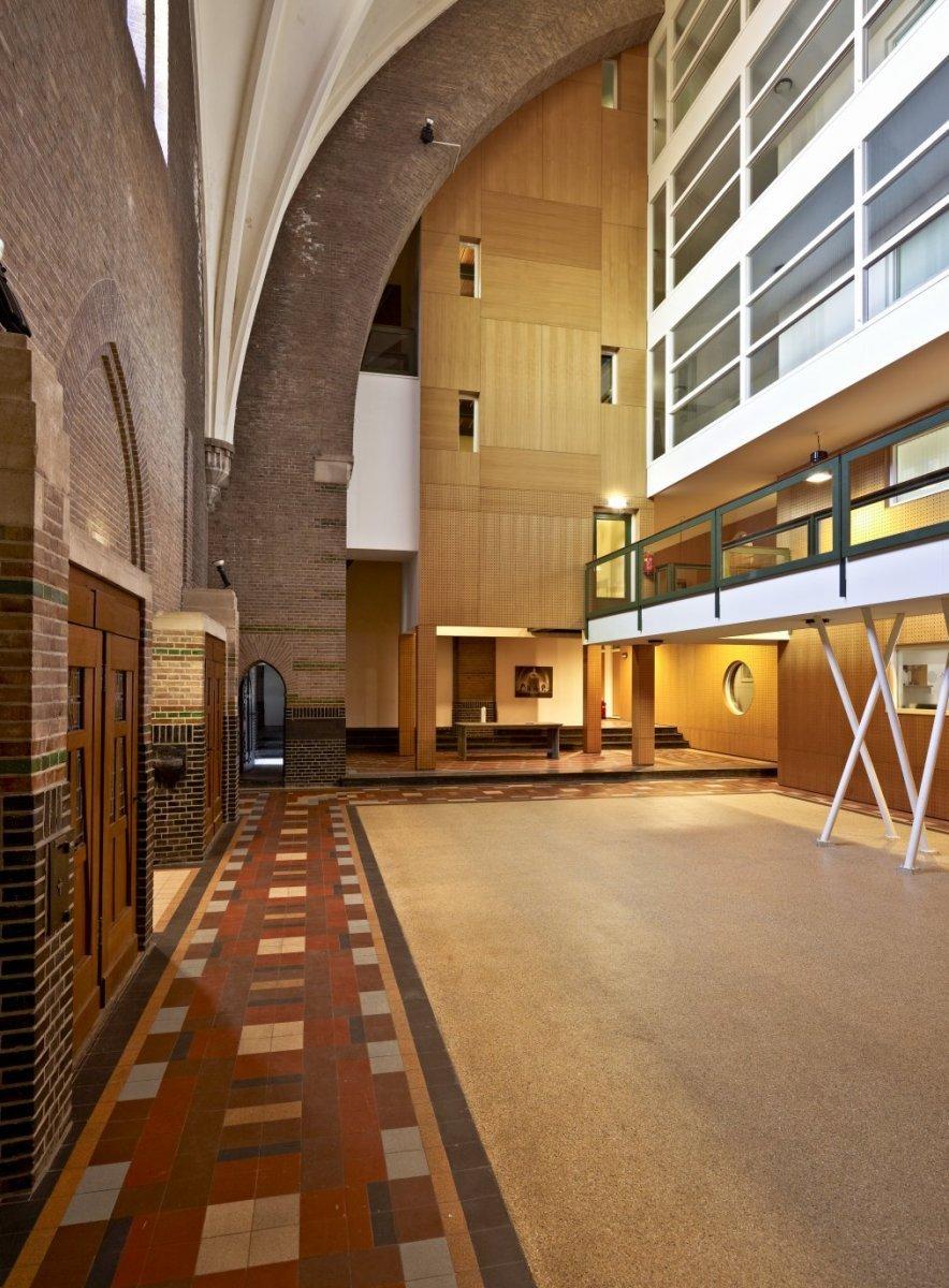 File interieur overzicht op de open ruimte met nieuwe for Interieur utrecht