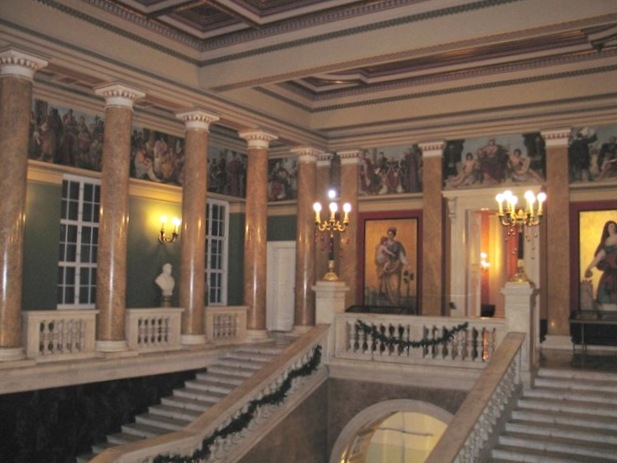 Interiors of Hungarian National Museum