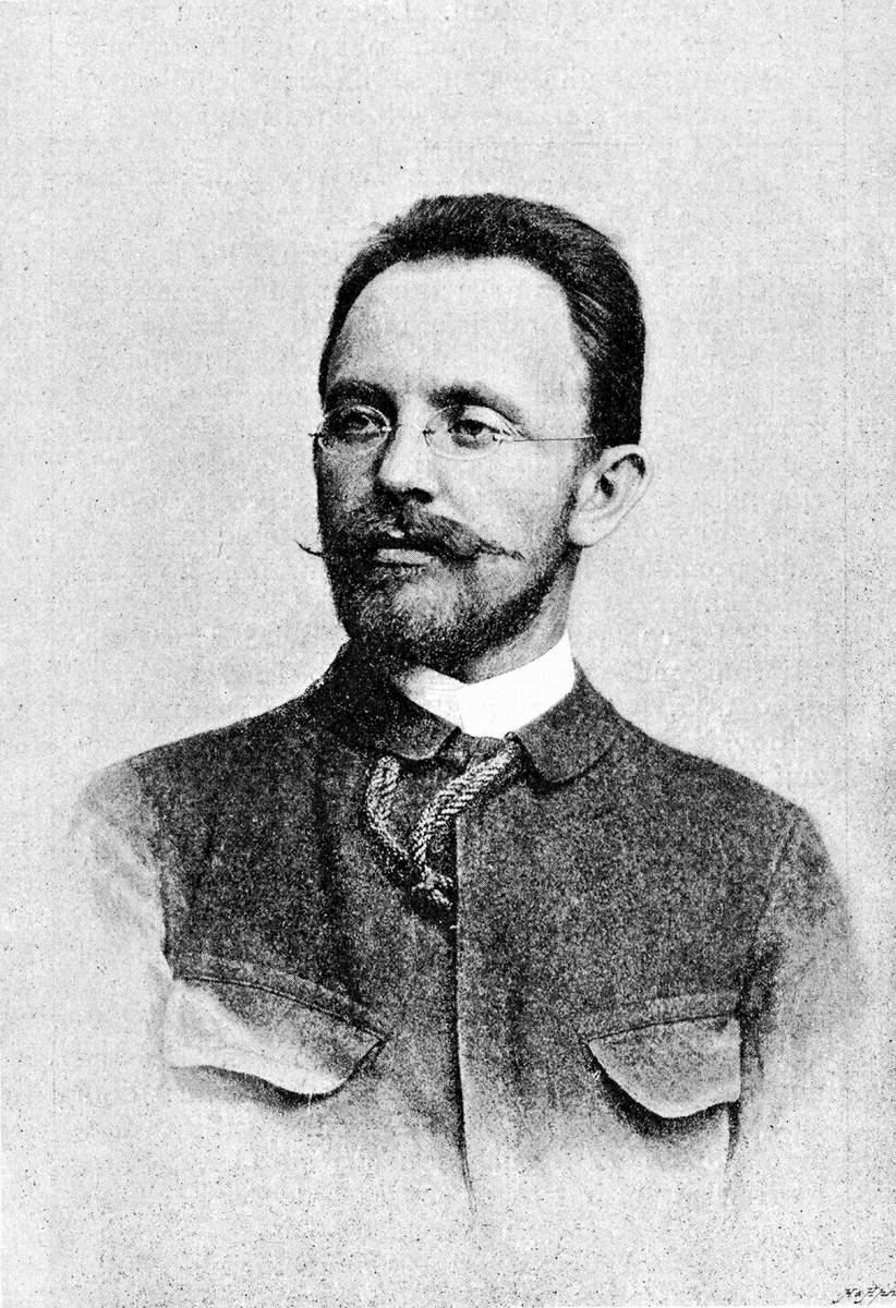 Ludvík Kuba in the 1890s.