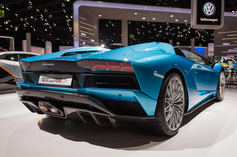 File Lamborghini Aventador S Roadster Back Img 0717 Jpg Wikimedia