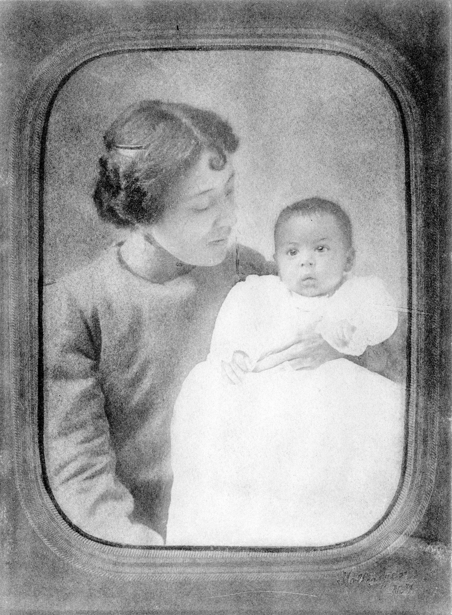 Langston Hughes Baby Photo
