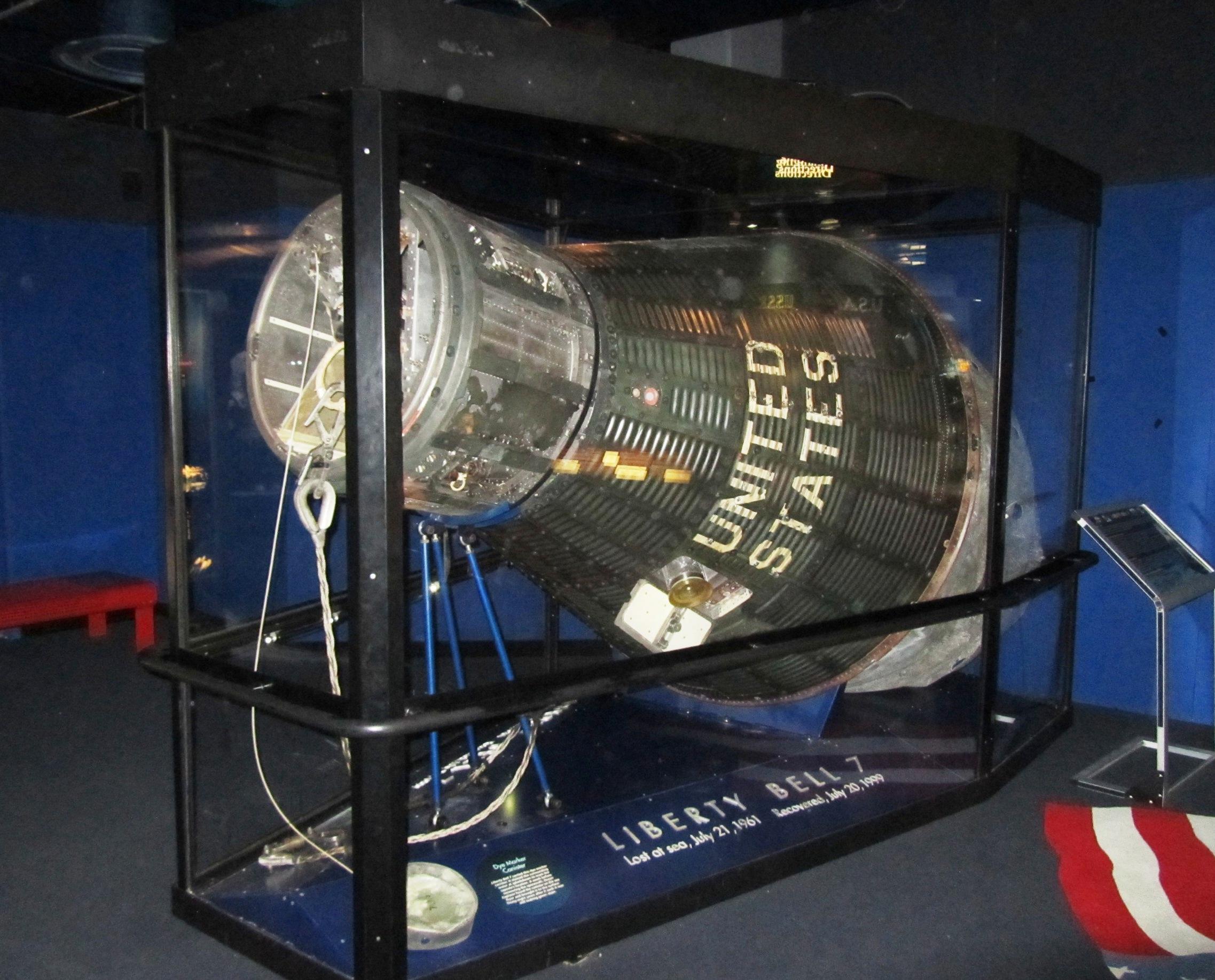 liberty bell 7 spacecraft model - photo #7