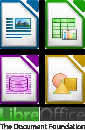 Visuel de la suite bureautique LibreOffice