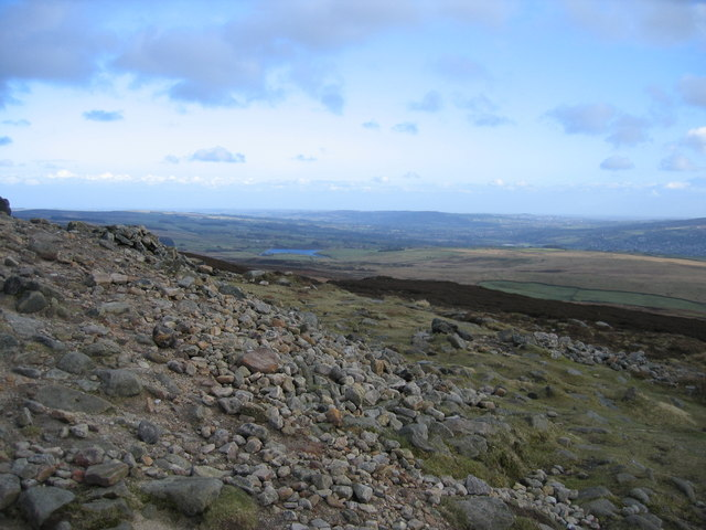 Looking SE from Beamsley Beacon - geograph.org.uk - 717792