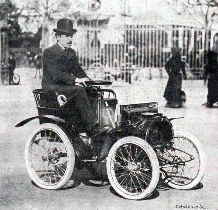 File:Louis Renault with his first car.jpg