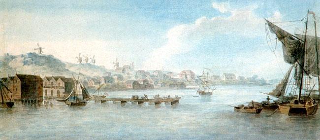 Lovisa hamn 1808
