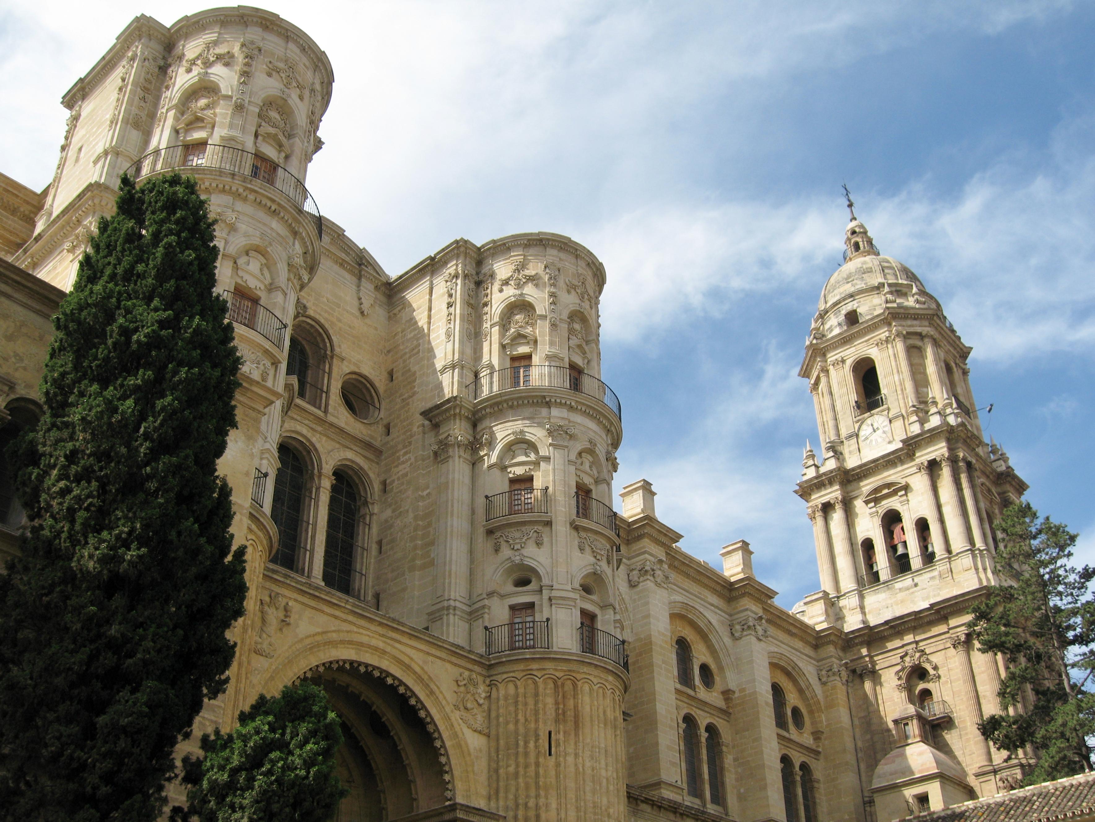 File m laga catedral wikimedia commons - Fotos malaga capital ...