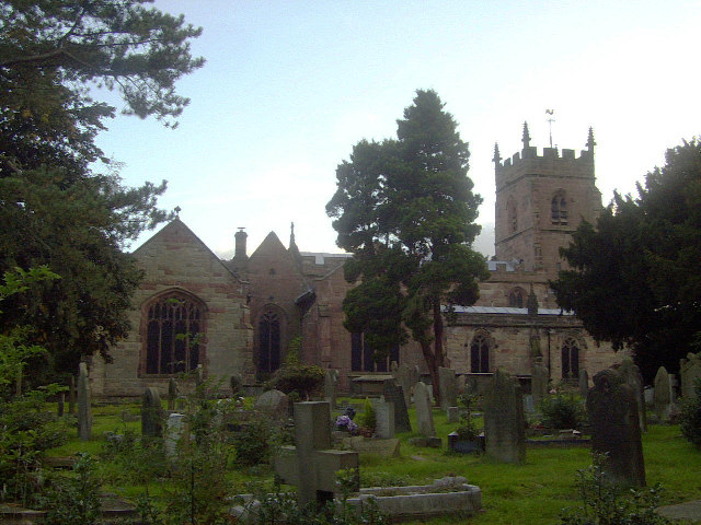 Madeley Church - geograph.org.uk - 60639